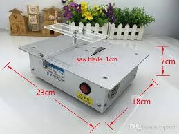 Cheap Table Saws Aluminum Alloy Micro Table Saw High Precision Pcb Cutting Machine