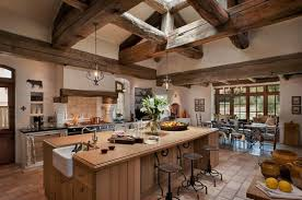 create a classic french rustic country style kitchen design in the