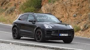 Porsche Macan Build - 2018 porsche macan facelift photographed inside and out