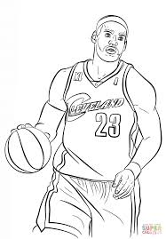 nba basketball coloring pictures