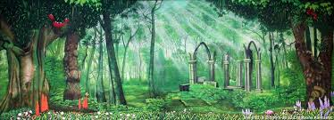 forest backdrop backdrop ew 011 s enchanted forest 2
