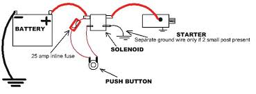 lawn mower solenoid wiring diagram for lawn mower solenoid