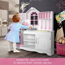 Toy Kitchen Set Wooden Princess Kitchen Set Spikids Com