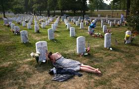 section 60 of arlington national cemetery offers tragic testimony
