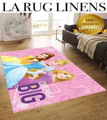 princess kids rug disney 5x7 extra soft non slip back area rug