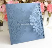 Snowflake Wedding Invitations Wholesale Snowflake Wedding Invitation Buy Cheap Snowflake