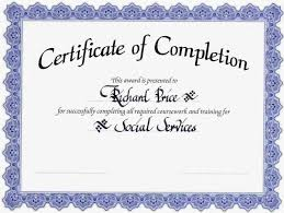 certificate forklift certificate template