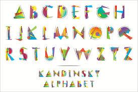 printable alphabet stencils 23 large alphabet letter templates designs free premium templates