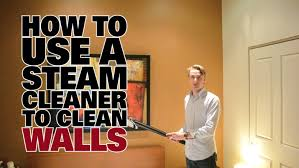 cleaning walls before painting how to use a steam cleaner to clean walls dupray steam cleaners