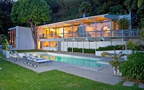 Celebrity Homes In Beverly Hills staller house 1955 richard neutra neutra balconies and
