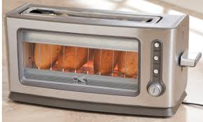 Glass In Toaster Oven Day 1 Of 12 Days Of Gifts U201csee Thru Toaster U201d