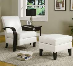 oversized reading chair with ottoman in comfortable oversized