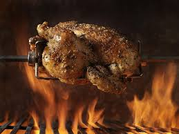 turkey rotisserie spit roasted turkey recipe