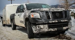 nissan titan diesel release date spied 2015 nissan titan diesel exercising at elevation the