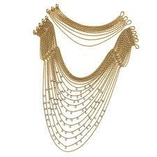gold multi chain bracelet images 35 best multi strand images 18k gold gold chains jpg