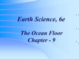 Homework   Chapter    the Oceans