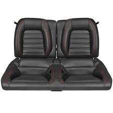 Tmi Upholstery Vw Tmi Mustang Sport R Seat Upholstery U0026 Foam Kit Black W Red