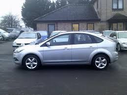 used ford focus 2009 diesel 1 6 tdci zetec 5dr hatchback silver