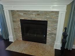Granite Tile Fireplace Surround Incredible Stacked Stone Fireplace Surround Regarding Tiling A Bower