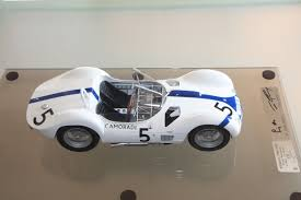 f suber maserati tipo 61 signed by s moss u0026 d gurney 1 12