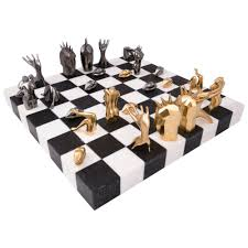 kelly wearstler dichotomy chess set for sale at 1stdibs
