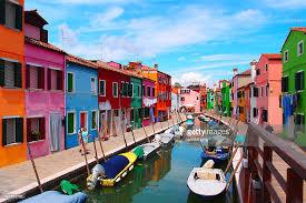 Burano Italy Burano Island Italy Stock Photo Getty Images