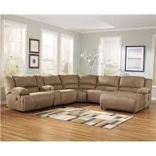 motion sofas and sectionals signature design by ashley furniture hogan mocha 6 piece motion