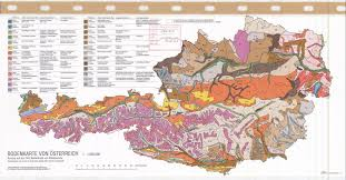 Map Austria Bodenkarte Von Osterreich Soil Map Of Austria Esdac