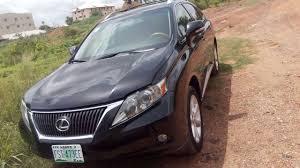 price of lexus rx 350 nairaland reg lexus rx350 2010 in abuja for n5 500 000 autos nigeria