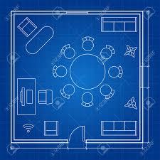 office floor plan symbols office floor plan with linear symbols conferance business outline