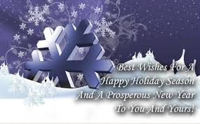 best wishes for a happy holidays season and a prosperous new year