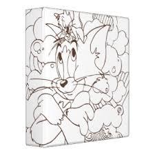 tom jerry custom binders zazzle