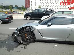 nissan malaysia nissan gt r gives l driver of a perodua a tough crash lesson in