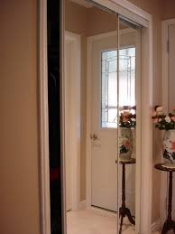 How To Remove A Sliding Closet Door Two Sets Mirrored Closet Doors Design Ideas Decors How To