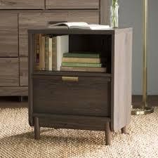 modern nightstands allmodern