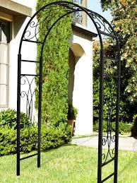 bradford garden arbor steel gardener u0027s supply