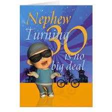 birthday cards for nephew nephew 30th birthday card dude zazzle