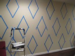 maison dor how to paint diamonds harlequin on wall 3 maison d u0027or