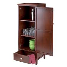winsome wood brooke jelly cupboard with door and drawer amazon ca