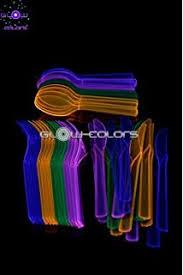 bicchieri fluorescenti uv floor universe 100 bicchieri fluorescenti 4 colori