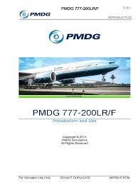pmdg 777 introduction simulation operating system