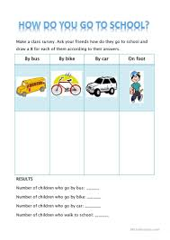 How Ro How Do You Go To Worksheet Free Esl Printable Worksheets