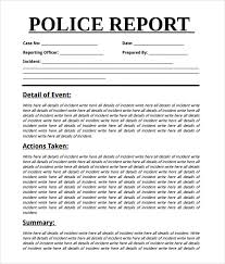 incident summary report template sle report 7 documents in word pdf