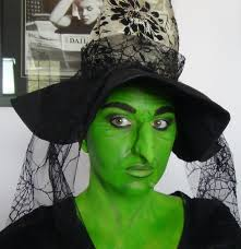 wicked witch makeup youtube