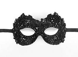 black masquerade masks sequined black masquerade mask embellished with rhinestones and