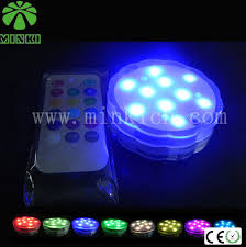 led battery lights with remote battery powered 5050 rgb led