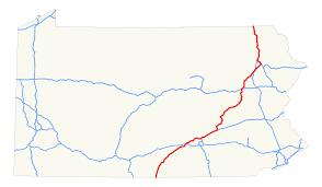 Hershey Pennsylvania Map Interstate 81 In Pennsylvania Wikipedia