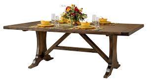 Amish Dining Tables Dining Room Furniture Amish Custom Furniture