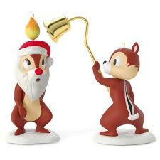 a merry pair chip and dale set of 2 ornaments keepsake ornaments