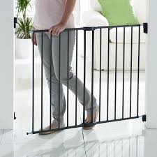 Child Gate Stairs by Push To Close Extending Metal Gate Walmart Canada